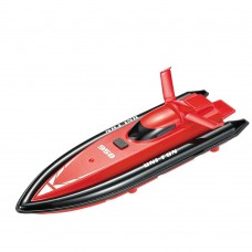 HuanQ 958 Full Azimuth Water Anti-Inflowing Sealing Wireless Remote Control RC Toy Racing Boat-Red