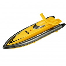 HuanQ 958 Full Azimuth Water Anti-Inflowing Sealing Wireless Remote Control RC Toy Racing Boat-Yellow