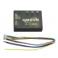 HMDVR 5V Mini DVR Audio Video AV Recorder for FPV Multicopter Drones