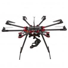 V8 Umbrella-Type Folding Octocopter Frame Wheelbase 1060mm for FPV Multicopter DIY