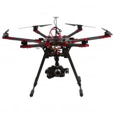 V6 6-Axis Folding Hexacopter Frame Wheelbase 990MM for FPV Multicopter DIY