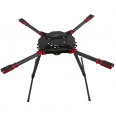 X4 4-Axis Folding Quadcopter Frame Wheelbase 830MM Open Source for FPV Multicopter DIY