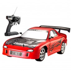 HuanQ538 Remote Control Car 1:10 RC Drift Racing Car Toy for Kids- Red