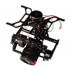 THOR TWO Plus I Type 3-Axis Brushless Gimbal Camera Mount for FPV Multicopter Support Sony NEX5 NEX7 A5100