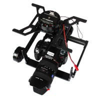 THOR TWO Plus III Type 3-Axis Brushless Gimbal Camera Mount for FPV Multicopter Support Canon 5D2 5D3 6D 7D Nikon D8000