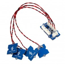 Grove - I2C Touch Sensor Controller Module with 4 Finger Sensor Feelers for DIY Arduino