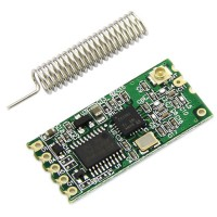 Mini 434Mhz DC3.3V-5V Wireless Serial Transceiver Module Data Transmission for DIY-40Meters