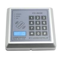 FC-S02E DC 12V Security Password 125KHZ EM RFID Proximity Entry Door Lock Access Control System