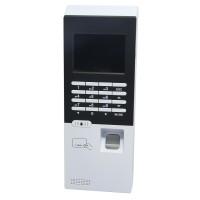 F218 12VDC Standalone Biometric Time Attendance System Fingerprint Access Control ID Card Reader Recorder