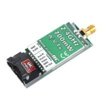2.4GHz 700mW Wireless Audio Video AV Transmitter NexwaveRF Tx Module for FPV Multicopter