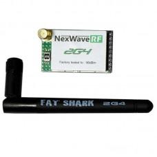 Fatshark 3.3V-5V 2.4GHz 8 Channel NexwaveRF Receiver Rx Module for RC Multicopter FPV