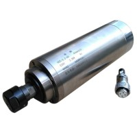 Water-Cooling Diameter 80mm Motor 220V 2.2KW 4 Bearings Spindle Motor for CNC Engraving Machine