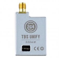 TBS UNIFY 2G4 2.4G 500MW 16CH Wireless Audio Video AV Transmitter Tx SMA Plug for FPV Multicopter