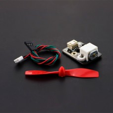 Mini Fan Module 3V-6V 15000rpm 0.111kg/cm PWM Interface Board with Propeller for Arduino DIY