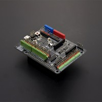 DFRobot Expansion Shield for Raspberry Pi B+ ATmega32u4 Leonardo chip Compatible with Arduino Shield Sensors