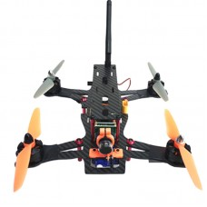 ATG 220mm 4-Aixs Carbon Fiber FPV Racing Quadcopter Frame with CCD Gimbal Camera Mount for Aerial Photography