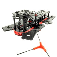 GE250Z 4-Aixs Carbon Fiber Quadcopter Frame with Power Distribution Board for FPV