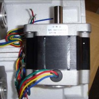 86 Stepper Motor 86BYGH450A-78 4TVL  4-Phase 45Kg.cm 12.7mm Output Shaft for CNC Engraving Machine