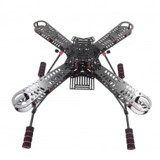 EX360 360mm 4-Axis Carbon Fiber Quadcopter Frame with Landing Gear & Hanging Board for FPV