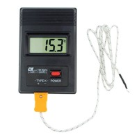 Thermometer Thermodetector Temperature Measurement Instrument -50~400 degree Celsius LCD