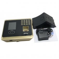 Biometric Face Recognition Fingerprint Password Time Clock Recorder Attendance Employee Electronic Reader Machine-Golden