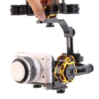 DYS 3 Axis Brushless Gimbal Mount Stand Support with 3 Motors for Sony NEX ILDC Camera Photography