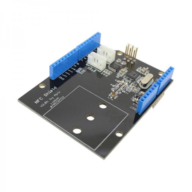 Nfc shield dc v smart card reader arduino rfid