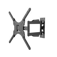 TV Wall Stand Mount Retractable Holder Bracket Rack w/Extension Pole for 26-47inch HDTV LED TV 32 40 48 49 50