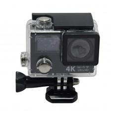 "H3 Waterproof WIFI Action Camera 4k Ultra HD 1080P 2"" LCD+0.95""Dual Screen 170 Len Sports DV Camera Diving 30M Helmet Cam"
