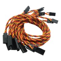 RC Servo Y Extension Cord Cable Wire Connection Splitted Lead JR 30cm 10-Pack
