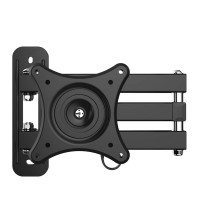 Universal LCD TV Wall Mount Monitor Holder Display Mount Rotating Bracket Rack for 10-27inch Television