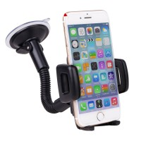 Universal 360 Degree Rotating Car Mount Stand Sucker Holder for iPhone GPS iPod Samsung Xiaomi Mobile Cell Phone
