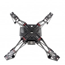 EXUAV EX400 400mm 4-Axis Carbon Fiber Quadcopter Frame with Gimbal Hanging Parts for FPV