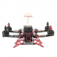 MAX230 230mm 4-Axis Carbon Fiber Quadcopter Frame with CNC Landing Gear for FPV