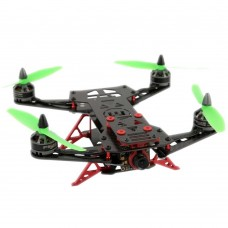 Crazy Runner H230 230mm 4-Axis Carbon Fiber Racing Quadcopter Frame for FPV