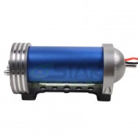 CNC Aluminum Alloy Fuel Methanol Pump with Filter Pipe for RC Model-Blue