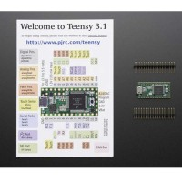 1625 Welcome to Teensy 3.1 Plus Header Module Development Board Adafruit for Arduino DIY
