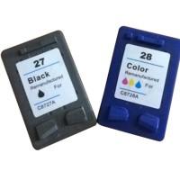 Ink Cartridge for HP 27 28 HP27 HP28 C8727AC8728A DeskJet 3320 3322 3323 3325 3420 3480 3550 3650