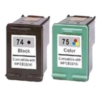 Inkjet Printer Ink Cartridge for 74 75 CB335W CB337W HP74 HP75 for C4280 C4480 D4260 J5725 J5780