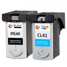 Ink Cartridge Canon PG40 CL41 Black+Color for MX308 IP1200 IP1600 MP450 IP1180 IP1880 Printer