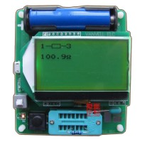 M8 Transistor Tester Upgrade M328 ESR Inductance Capacitance ESR Multifunctional Meter Measurement for DIY