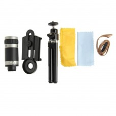 Mobile Phone Lens Universal 8X Zoom Phone Telephoto Camera Lens with Clip for iPhone Samsung Photography