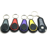 1 Transmitter + 4 Receiver Wireless Electronic Key Finder Locater Alarm Keychain