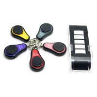 5in1 1 Transmitter + 5 Receivers Wireless Electronic Key Finder Locater Alarm Keychain