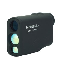 Laser Rangefinder 600m Range Finder Hunting Monocular Golf Measure Distance Meter Speed Tester Outdoor