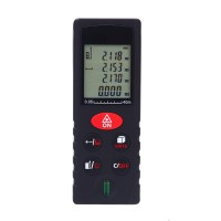 KXL-D40 Handheld Laser Range Finder Distance Meter Laser Tape Measure 40M Area Volume Tester