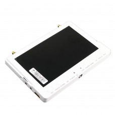 DC7V-28V 7 inch 5.8G HD LCD TFT 800x480 Screen Monitor Wireless Receiver for FPV Aerial Photography-White