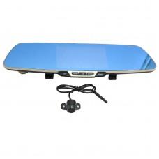 Full HD 170 Degree Blue Screen Car Rearview Mirror Dual Lens DVR Camera Video Camcorder