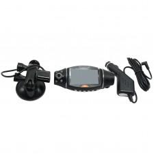 R310 2.7 Inch 140 Degree GPS IR Night Vision Monitor TFT LCD Dual 2 Lens Dash HD DVR Vehicle Camera Cam Video Recorder