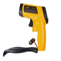 GM550E Handheld Gun Infrared Thermomter IR Thermometric Indicator Thermodetector -50-550C Temperature Monitor